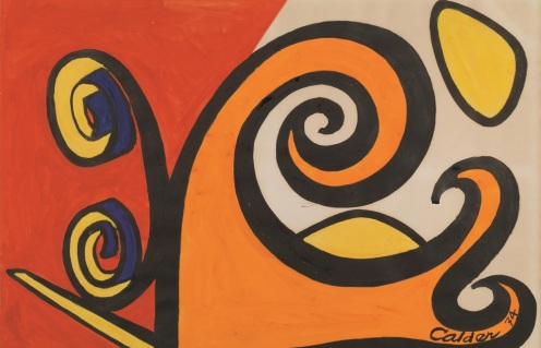 Alexander Calder, AMARYLLIS, 1974